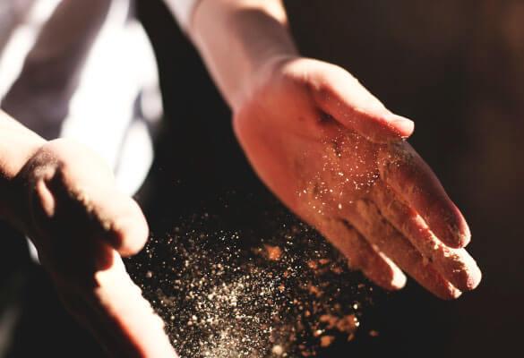 Pan con elaboración artesanal
