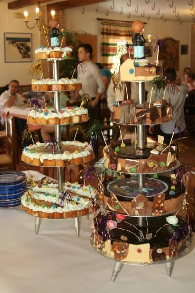 Tartas para bodas y comuniones
